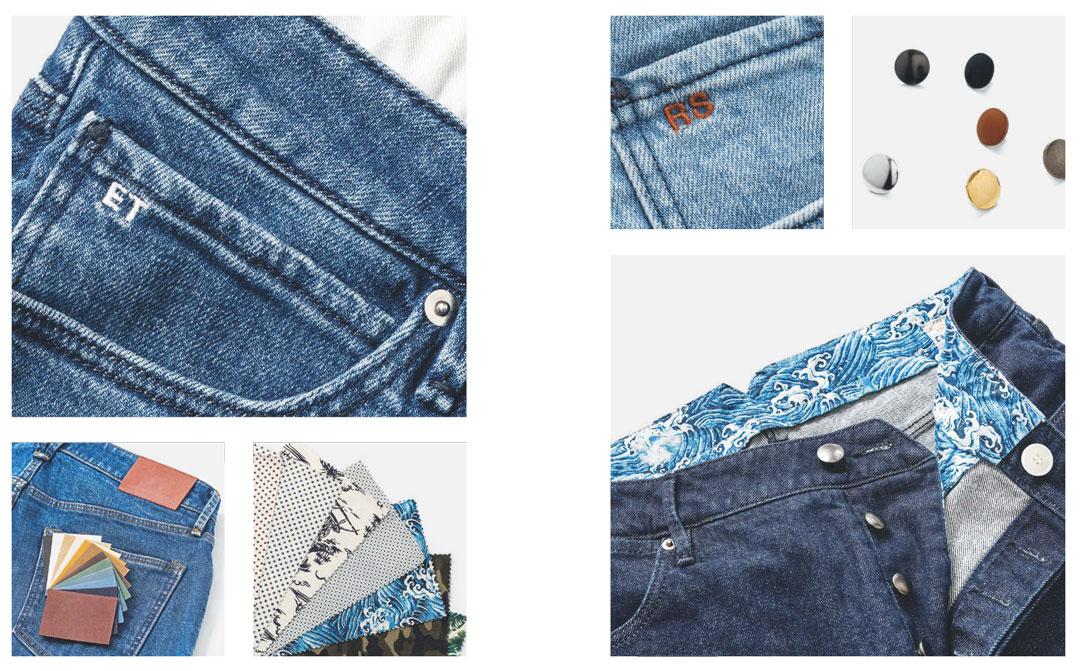 jeans sur mesure