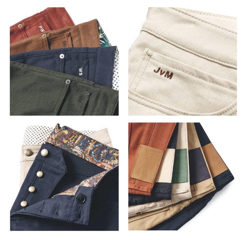 pantalon 5 poches denim